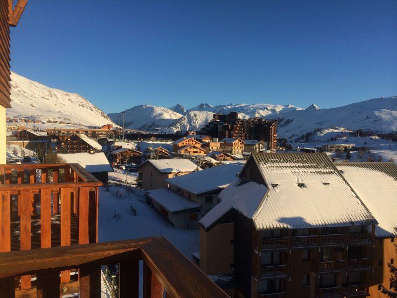 Vue du balcon Location Appartement 116707 Alpe d'Huez