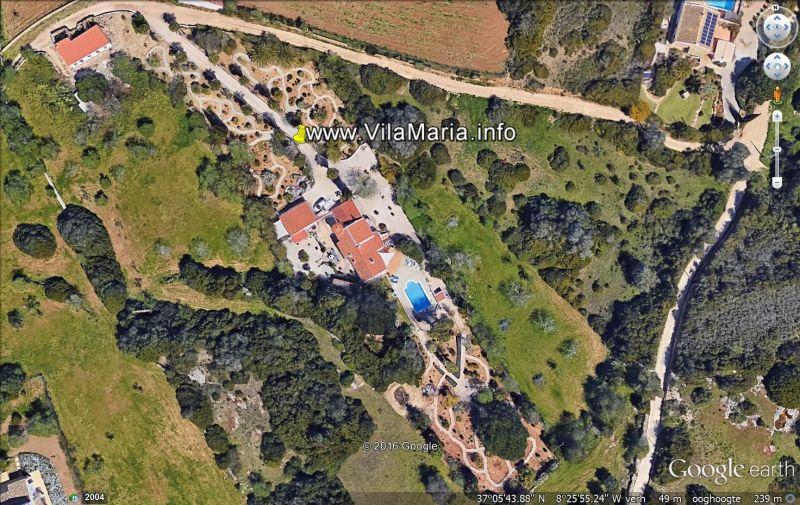 Plan de la location Location Gite 117556 Carvoeiro