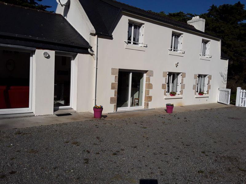 Vue extérieure de la location Location Maison 118313 Fouesnant