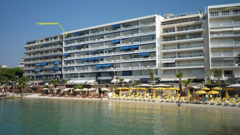 Vue extérieure de la location Location Appartement 65540 Juan les Pins