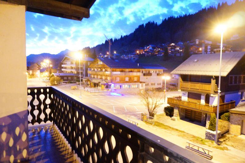 Vue du balcon Location Appartement 65782 Les Gets