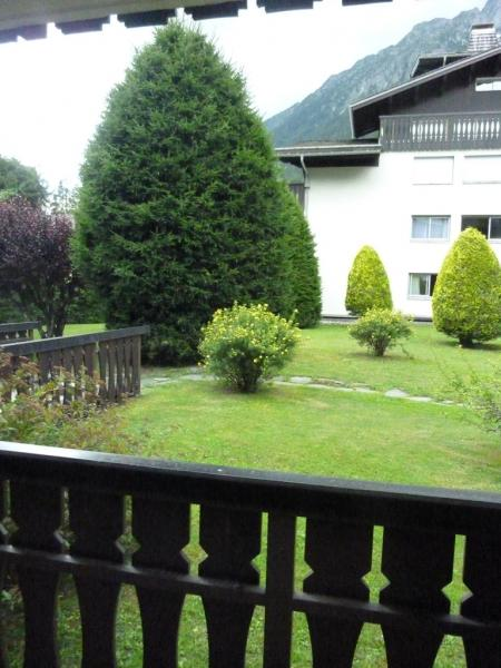 Vue de la terrasse Location Appartement 66847 Chamonix Mont-Blanc