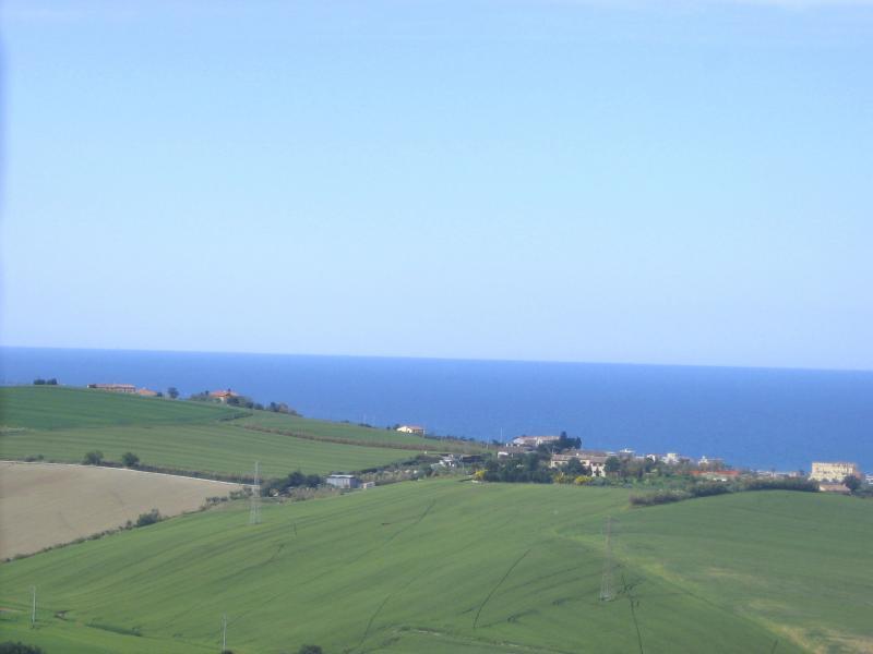 Vue de la terrasse Location Appartement 67543 Pesaro