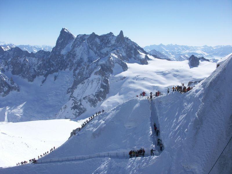 Vue extérieure de la location Location Appartement 68975 Chamonix Mont-Blanc