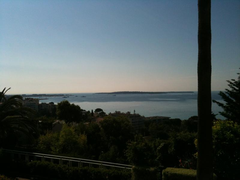 Vue du balcon Location Appartement 73628 Cannes