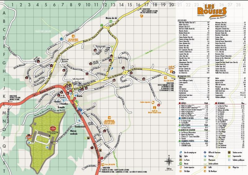 Plan de la location Location Appartement 73967 Les Rousses
