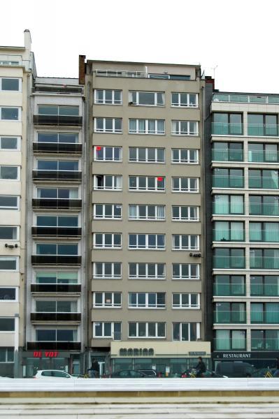 Vue extérieure de la location Location Appartement 75999 Ostende