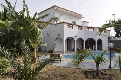 Vue ext�rieure de la location Location Villa 79199 Saly