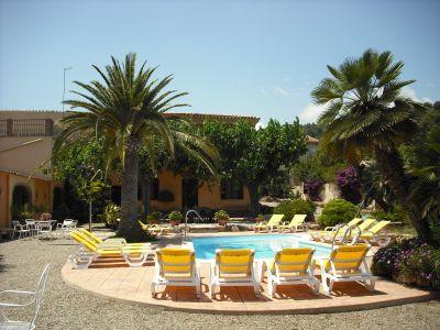 Vue extérieure de la location Location Villa 83814 Salou