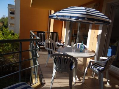 Vue de la terrasse Location Appartement 84263 Fr�jus