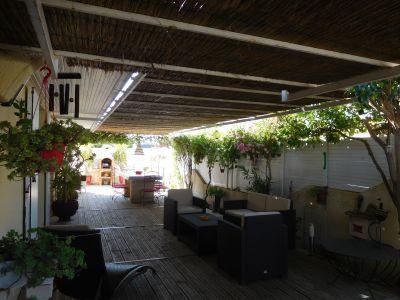 Vue de la terrasse Location Villa 85121 Aigues Mortes