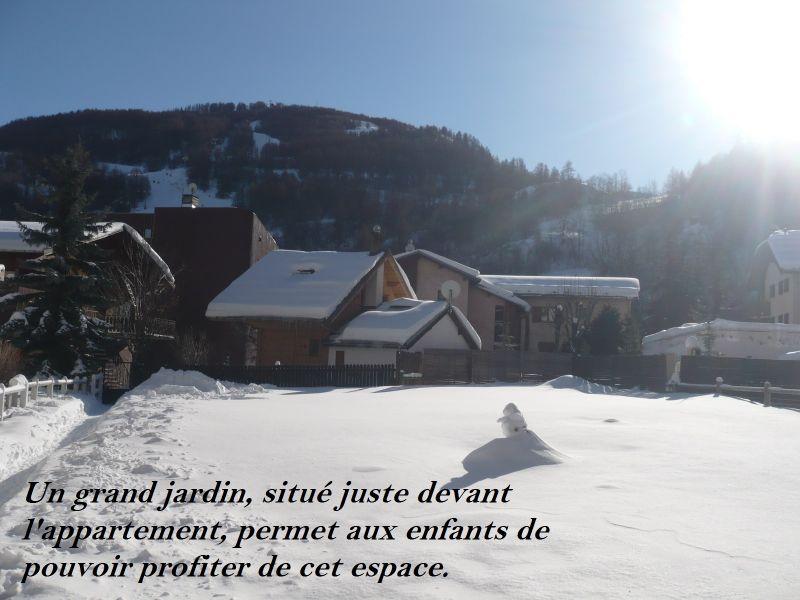 Jardin Location Appartement 88191 Valloire