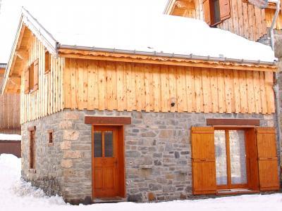 Vue ext�rieure de la location Location Chalet 93732 Valloire