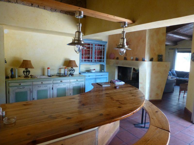 Salle à manger Location Villa 95613 Cotignac