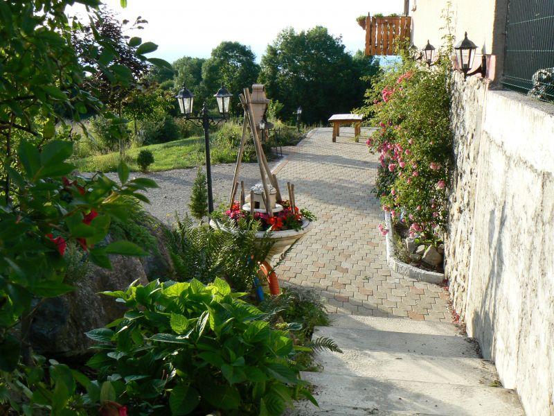 Vue de la terrasse Location Maison 98117 Evian les Bains