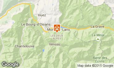 Carte Les 2 Alpes Chalet 93861