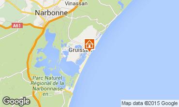 Carte Gruissan-Plage Chalet 40372