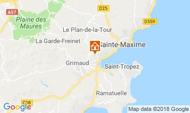 Carte Saint Tropez Maison 117626