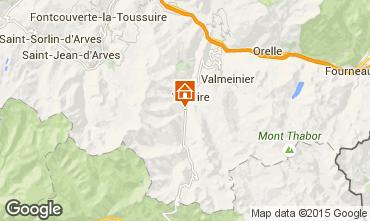 Carte Valloire Chalet 3373