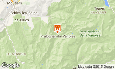 Carte Pralognan la Vanoise Appartement 18251