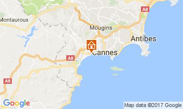 Carte Cannes Appartement 111222