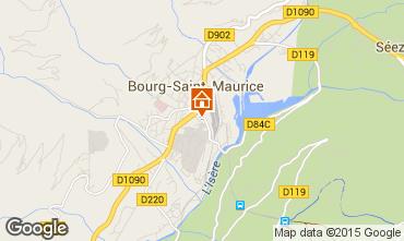 Carte Bourg saint Maurice Appartement 96964
