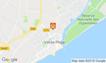 Carte Valras-Plage Mobil-home 113228
