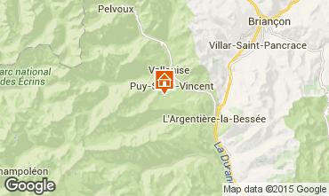 Carte Puy Saint Vincent Appartement 56195
