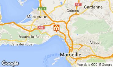 Carte Marseille Gite 5959