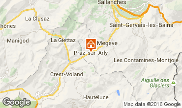Carte Praz sur Arly Appartement 102552