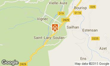 Carte Saint Lary Soulan Studio 80422