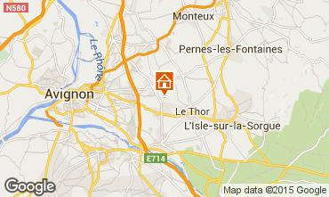 Carte Avignon Maison 93387