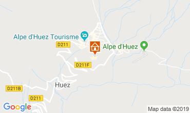 Carte Alpe d'Huez Appartement 117395