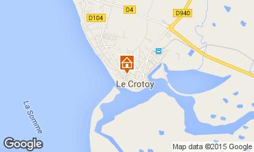 Carte Le Crotoy Maison 78387