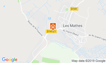 Carte Les Mathes Mobil-home 115512