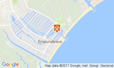 Carte Empuriabrava Appartement 110276