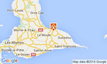 Carte Le Moule Villa 100796