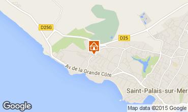 Carte Saint Palais sur Mer Maison 21962