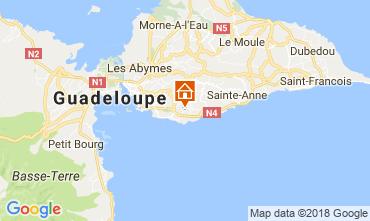 Carte Gosier (Guadeloupe) Villa 77624