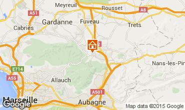 Carte Aix en Provence Villa 85454