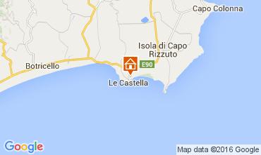 Carte Le Castella Appartement 105561