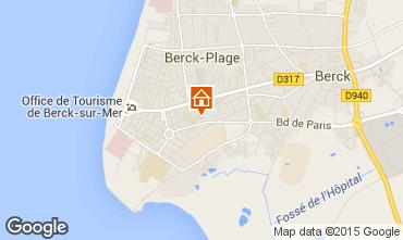 Carte Berck-Plage Appartement 65406