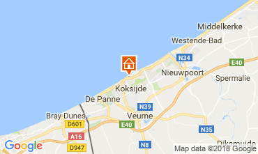 Carte Koksijde Appartement 111601