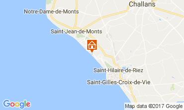 Carte Saint Hilaire de Riez Appartement 110324