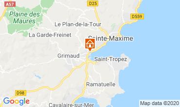 Carte Port Grimaud Mobil-home 113311