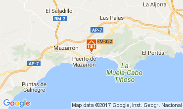 Carte Puerto de Mazarrón Appartement 112638