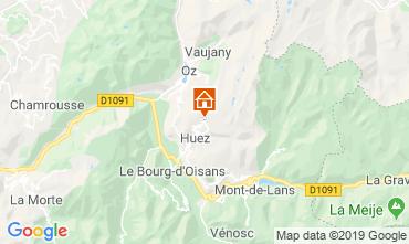 Carte Alpe d'Huez Appartement 27