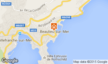 Carte Beaulieu sur Mer Appartement 90459