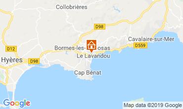 Carte Le Lavandou Appartement 119010