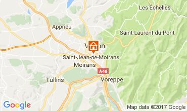 Carte Grenoble Gite 16078